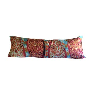 Silk Paisley Bed Pillow