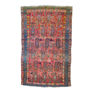 "Paisley Antique Persian Malayer Rug - 3'11"" X 6'1"""