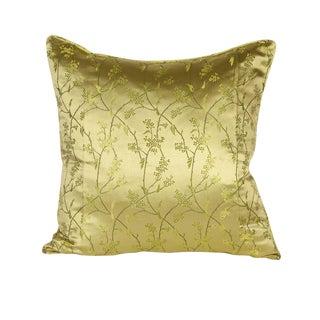 Silk Green Vine 20x20 inch pillow
