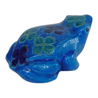 Vintage Bitossi Aldo Londi Frog