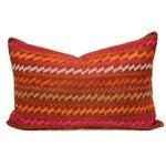 Image of Ceremonial Bagh Phulkari Lumbar Pillow