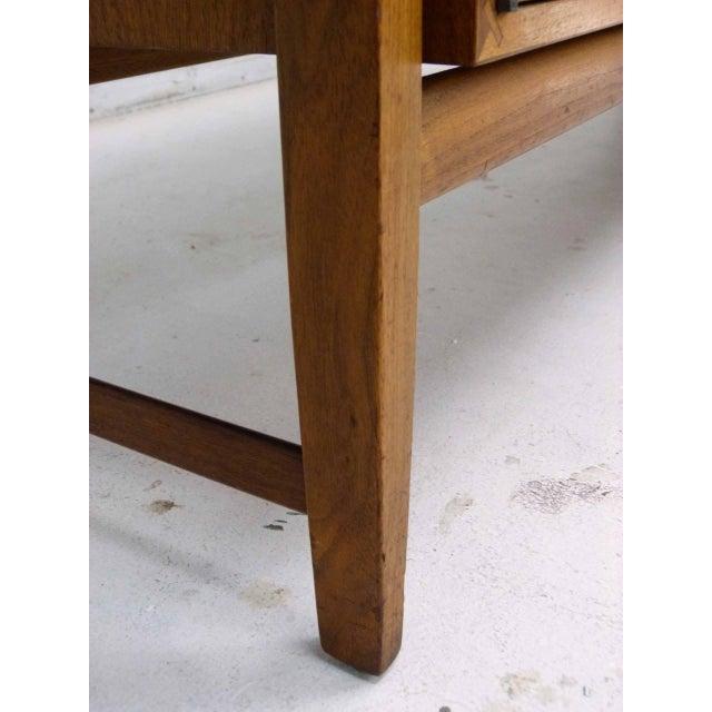 Kipp Stewart for Calvin Furniture Teak & Rosewood Inlay Sideboard - Image 9 of 11