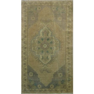 Vintage Turkish Rug - 1′10″ × 3′3″