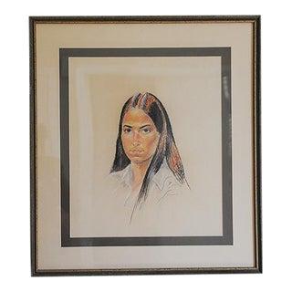Portrait of a Woman by D. Hodermarsky