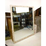Image of Shabby Chic Hand-Carved Mirror