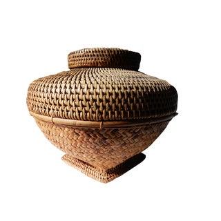 LG Woven Asian Basket