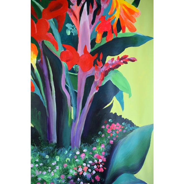 Pot De Fleurs Acrylic Painting - Image 7 of 8