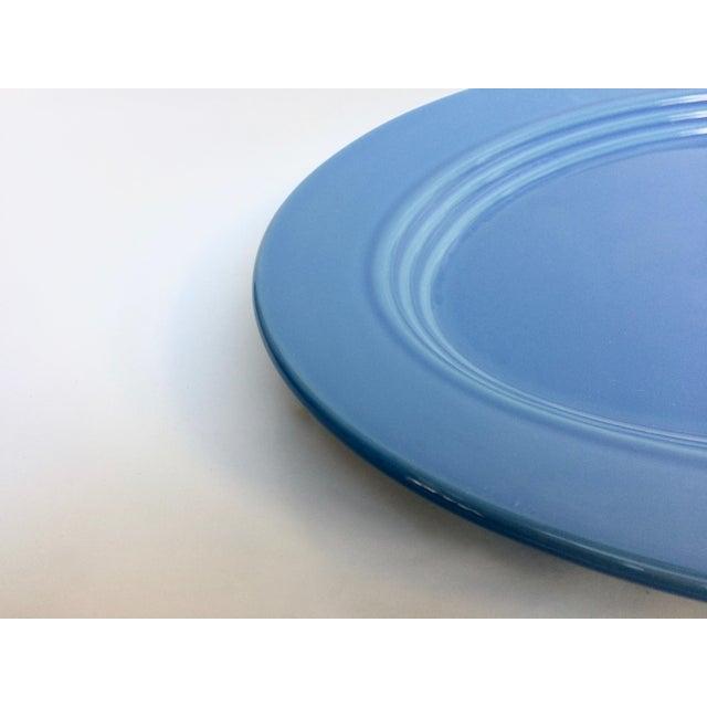 Blue Oval Serving Platter - Image 3 of 5