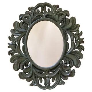 Modern Rococo-Style Resin Mirror