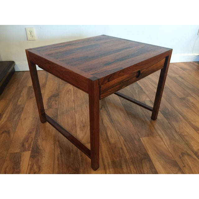 Brode Blindheim Rosewood End Table - Image 3 of 9