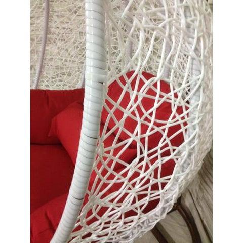 Single Wide Tear Drop Swing Chair - Image 5 of 7