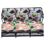 Image of 1930s Stick Wicker Deco Sofa & Chairs - Set of 3