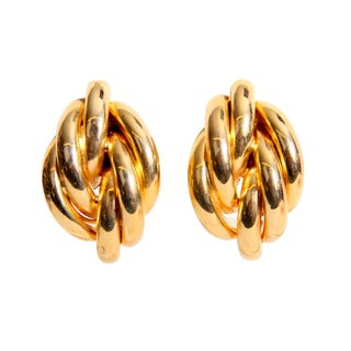 Modernist Tubular Earrings