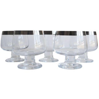 Mid-Century Brandy Glasses - Set of 5