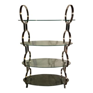Hollywood Style Etagere