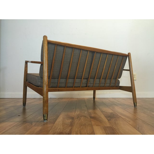 Image of Mid-Century Lounge Chair & Loveseat