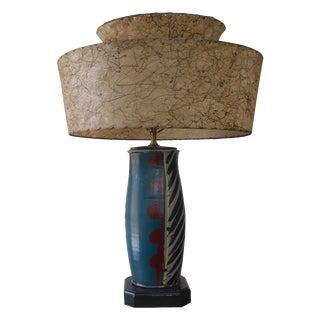 Mid-Century Pottery Lamp