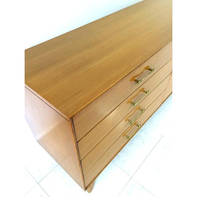 Rway Maple Mid-Century Low Boy Dresser - Image 4 of 9