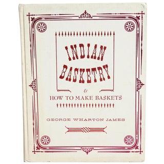 """Indian Basketry"" Illustration Book"