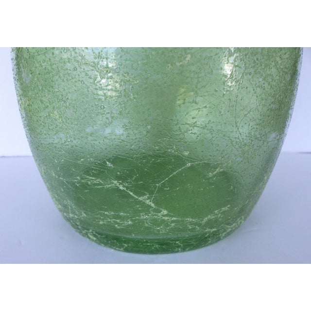 Spanish Mid-Century Glass Vessel/Bottle - Image 5 of 8