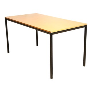 "Friso Kramer Wood Top ""Facet"" Table"