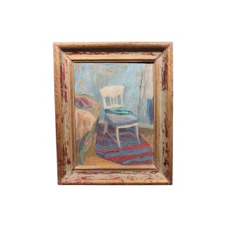 Ringvall, Daughter's Sewing Chair Painting