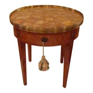 French Louis XVI Style Bouillotte Table