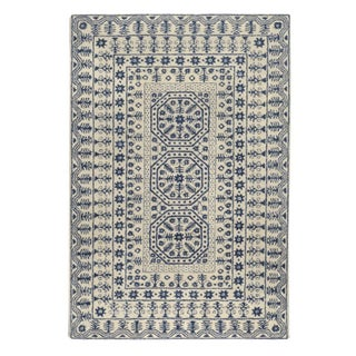 8'x11' Surya Smithsonian Rug in Blue and Ivory