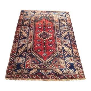 Vintage Anatolian Rug - 3′11″ × 5′6″