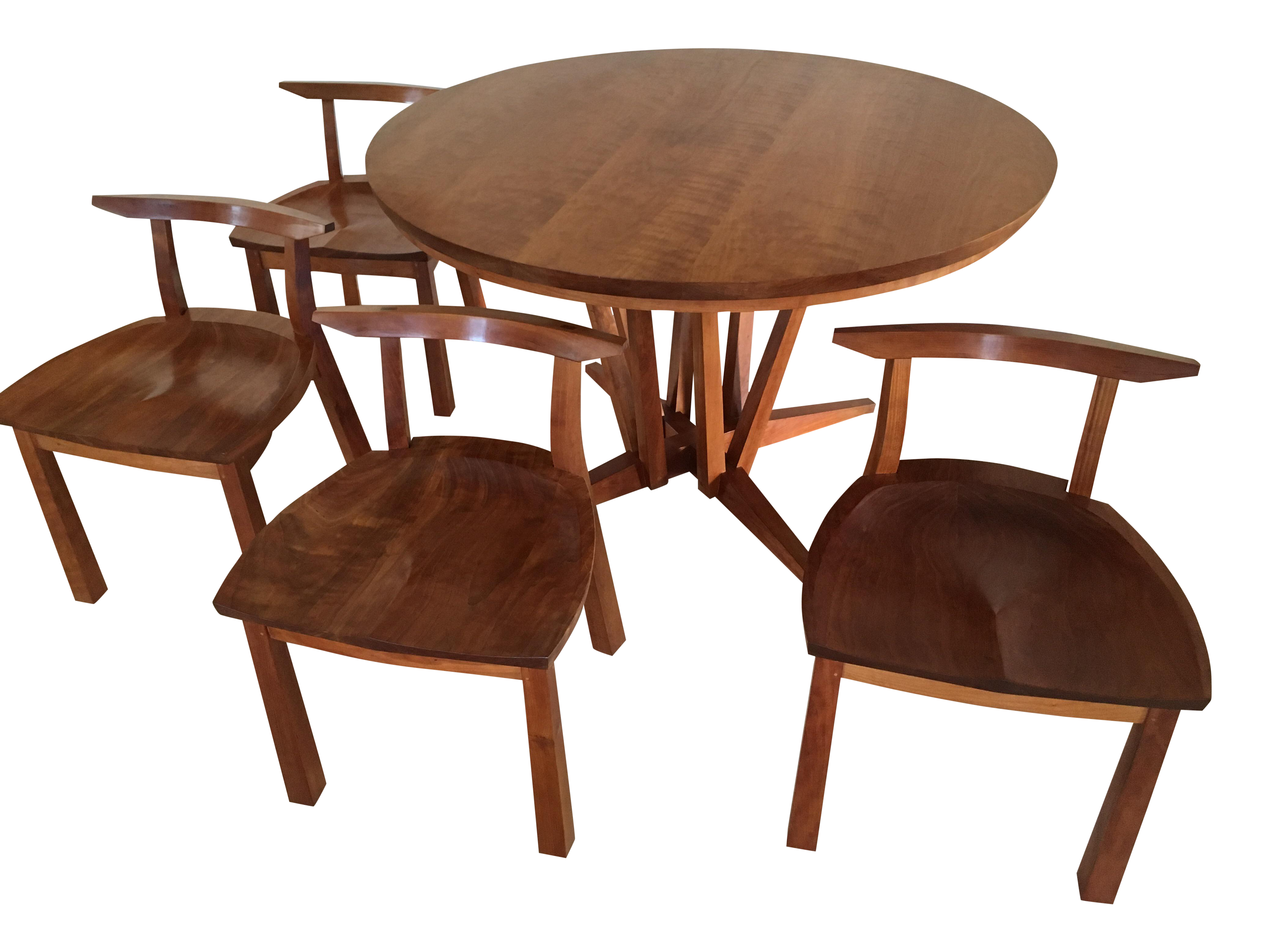 Thomas Moser Edo Table With 4 Dining Chairs   Image 1 Of 10