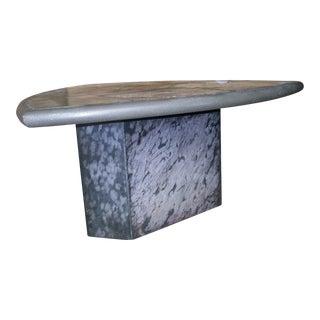 Kingma Style Slate and Bronze Coffee Table v. Rambburon, Circa 1985
