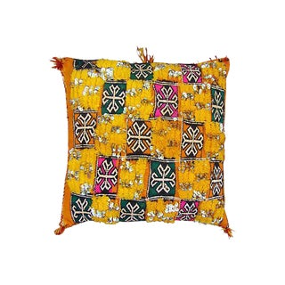 Pink, Green & Yellow Moroccan Sham
