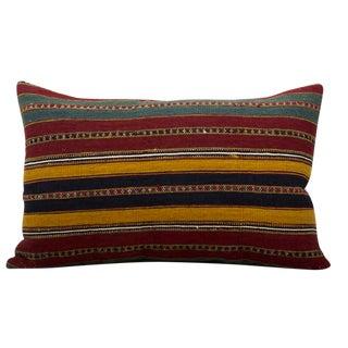 Vintage Mongolian Accent Pillow