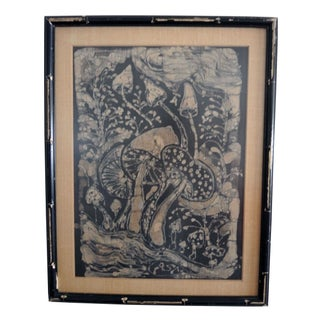 Vintage Batik Art