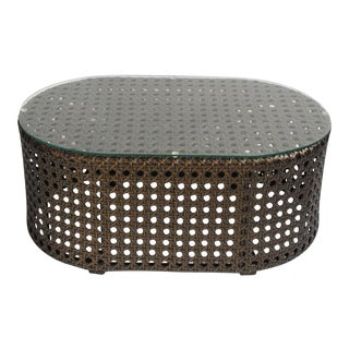Outdoor Faux Rattan Coffee Table