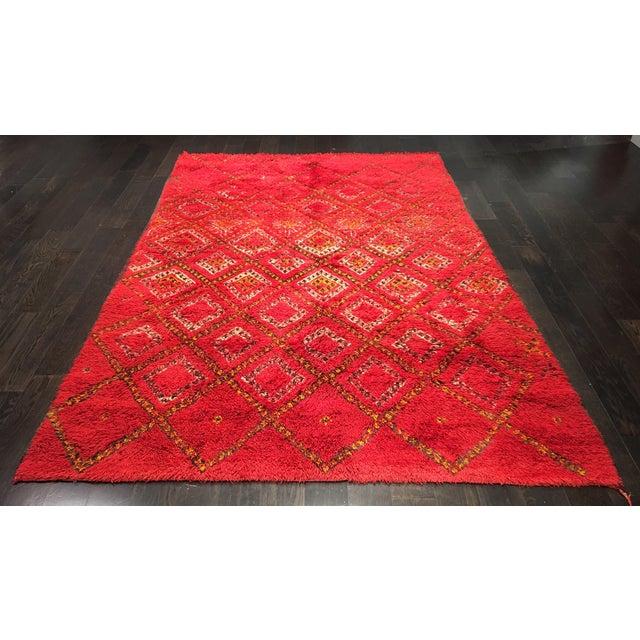 """Image of Bellwether Rugs Organic Wool Beni Orin Moroccan Rug - 5'10""""x8'7"""""""