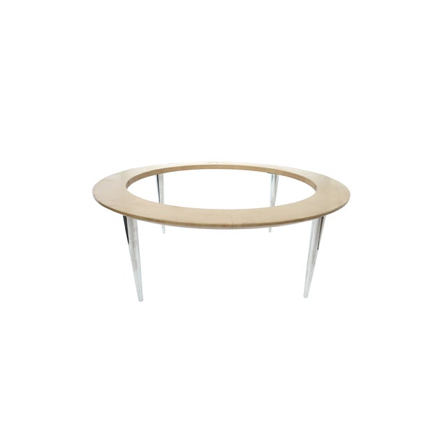 Image of 1950s Travertine Cocktail Table