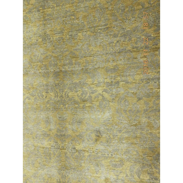 """Hand-Knotted Contemporary Rug - 6'x 9'5"""" - Image 9 of 10"""