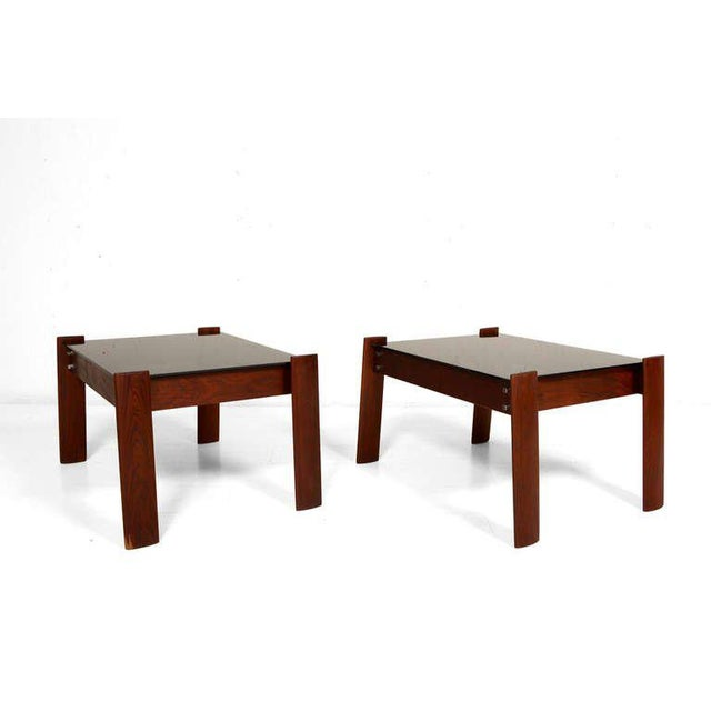 Pair of Percival Lafer Side Tables - Image 4 of 5