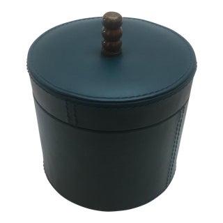 Blue Round Box