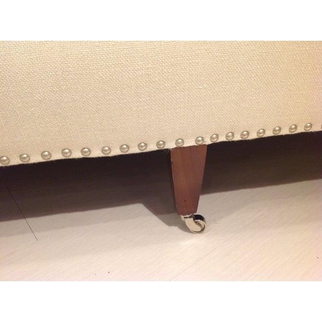 Lillian August Paris Linen Sofa - Image 7 of 9