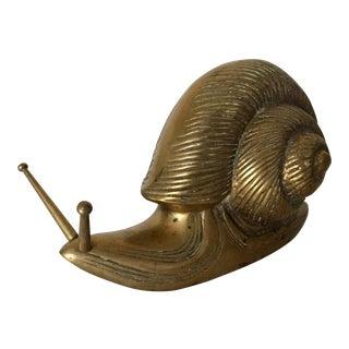 Brass Snail