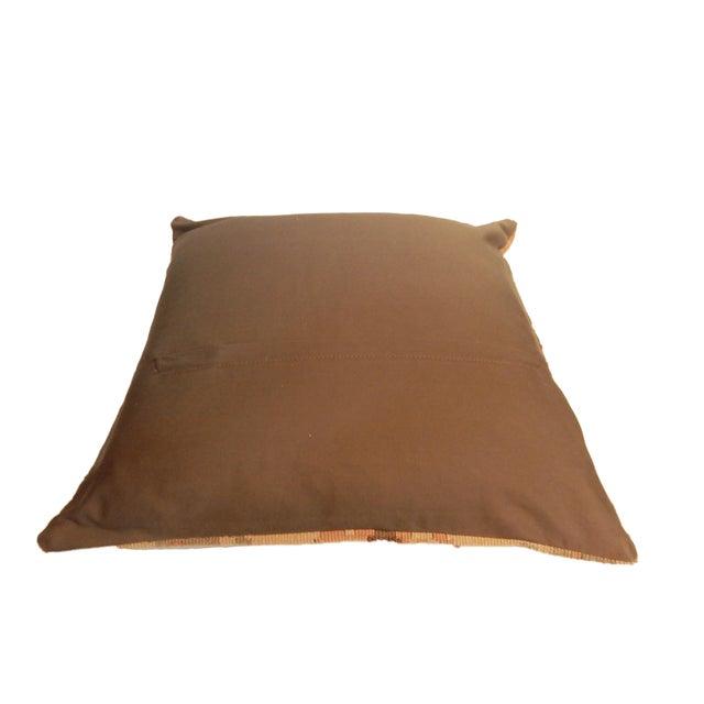 Old Turkish Tribal Kilim Pillow - Image 5 of 7