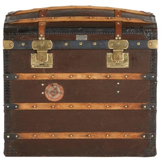 1920s French Moynat Steamer Trunk