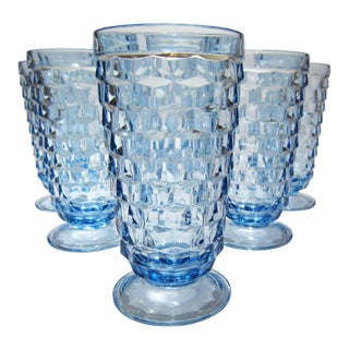 Blue Footed Tumblers - Set of 6