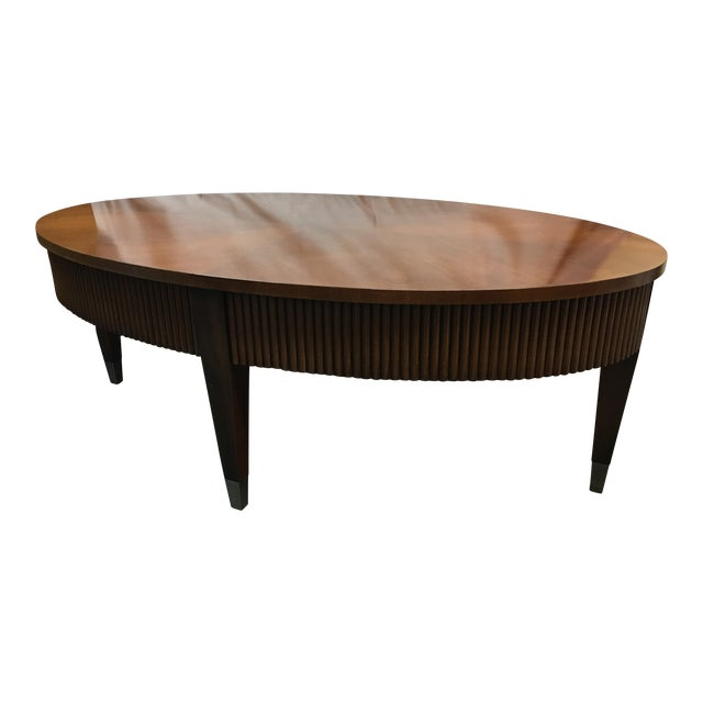 Traditional Coffee Tables Ethan Allen: Ethan Allen Legacy Ribbed Coffee Table