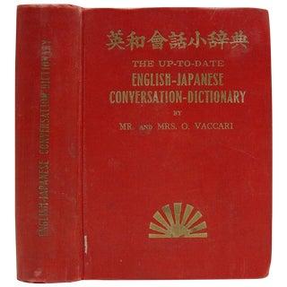 English-Japanese Conversation Dictionary