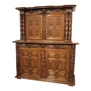 Rare Late Renaissance Cabinet from France, 17th Century