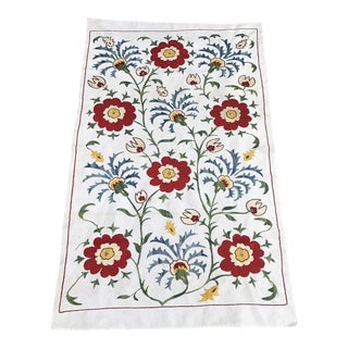 Famous 16th Century Vintage Design Table Runner Silk and Cotton Fabric