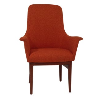 Modern Mid Century Red Style Dining Chair